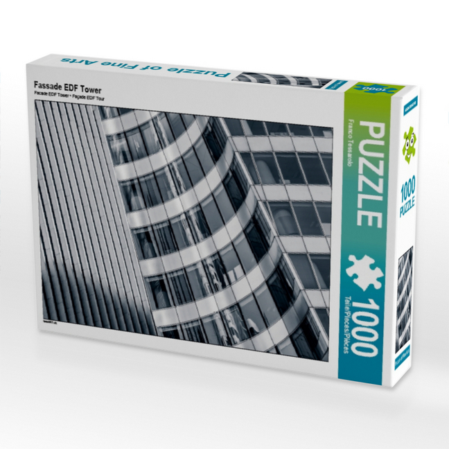 Cover Fassade EDF Tower, 1000 Teile