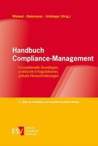 Cover Handbuch Compliance-Management