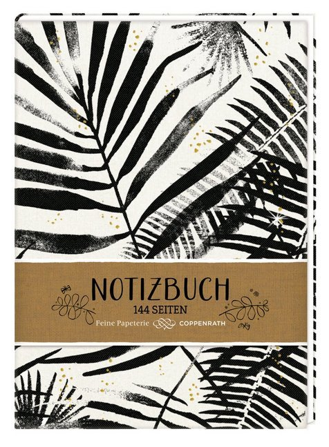 Cover Notizbuch - Punkte (All about black & white)