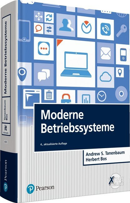 Cover Moderne Betriebssysteme