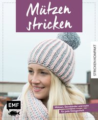 Cover Stricken kompakt – Mützen stricken