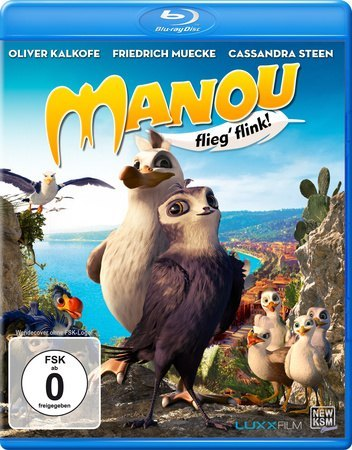 Cover Manou - Flieg' flink!, 1 Blu-ray