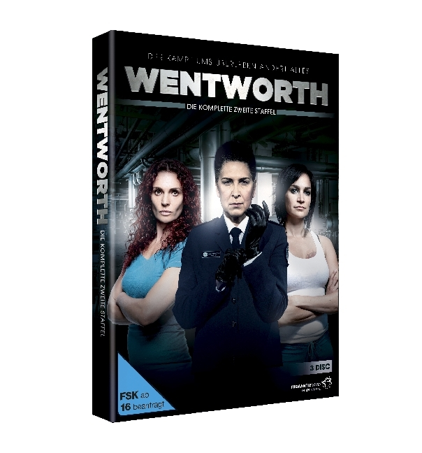 Cover Wentworth. Staffel.2, 3 DVD