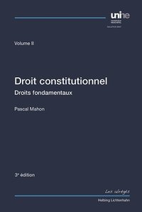 Cover Droit constitutionnel Volume II