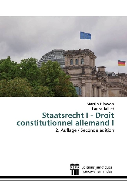 Cover Staatsrecht I - Droit constitutionnel allemand I
