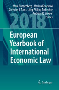 Cover European Yearbook of International Economic Law 2018