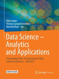 Cover Data Science – Analytics and Applications
