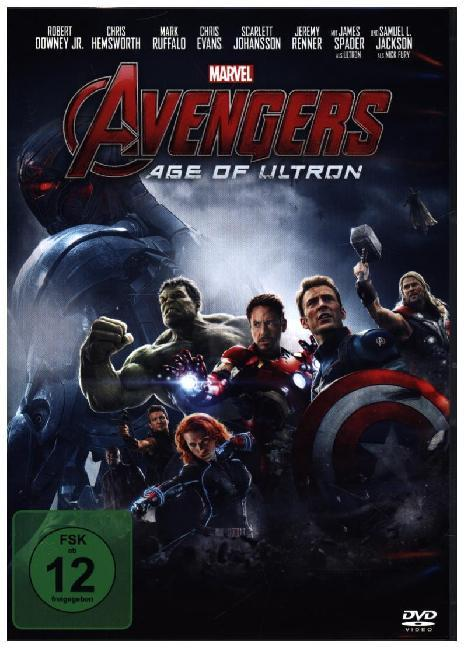 Cover Avengers: Age of Ultron, 1 DVD