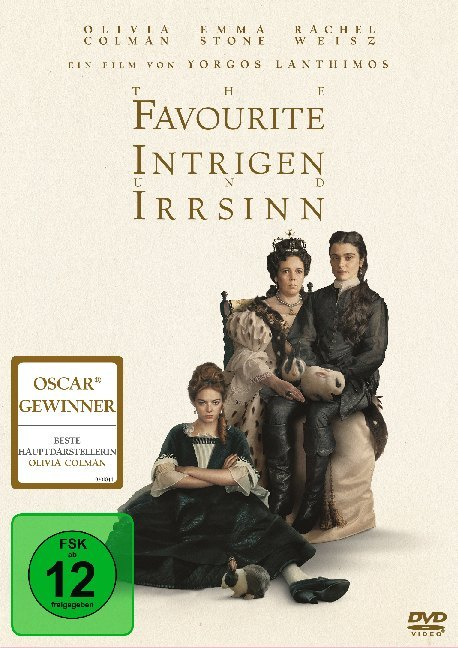 Cover The Favourite, 1 DVD