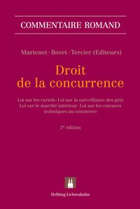Cover Droit de la concurrence