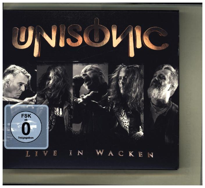 Live In Wacken, 1 Audio-CD + 1 DVD