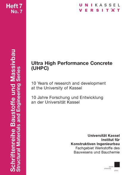 Cover Ultra High Performance Concrete (UHPC)