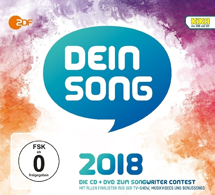 Dein Song 2018, 1 Audio-CD + 1 DVD