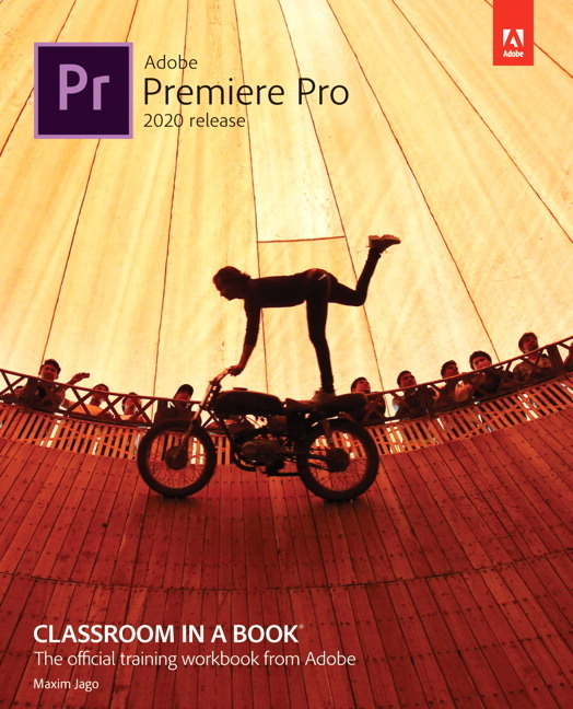Cover Adobe Premiere Pro Classroom in a Book