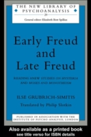 Cover Early Freud and Late Freud