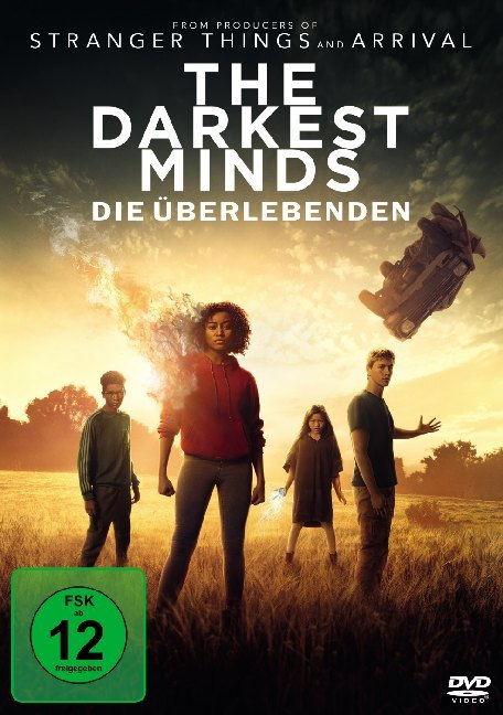 Cover The Darkest Minds - Die Überlebenden, 1 DVD