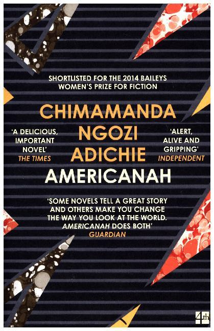 Cover Americanah, English edition