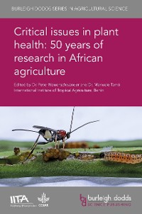 Cover Critical issues in plant health: 50 years of research in African agriculture
