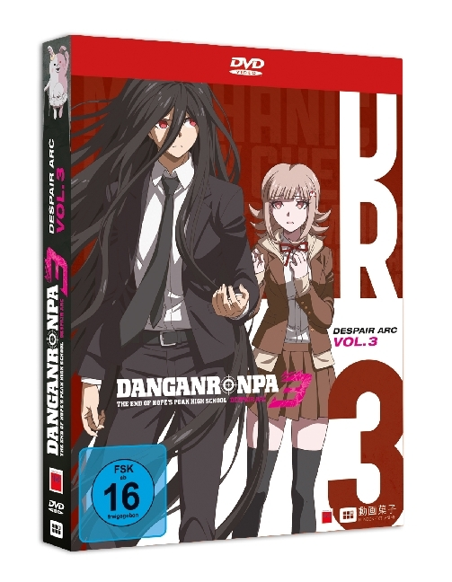 Danganronpa 3: Dispair Arc. Tl.3, 1 DVD