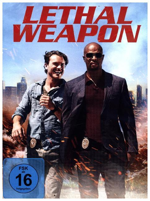 Lethal Weapon. Staffel.1, 3 DVDs