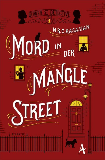Cover Mord in der Mangle Street
