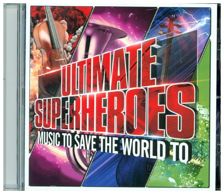 Cover Ultimate Superheroes, 1 Audio-CD