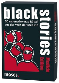 Cover black stories - Medizin Edition