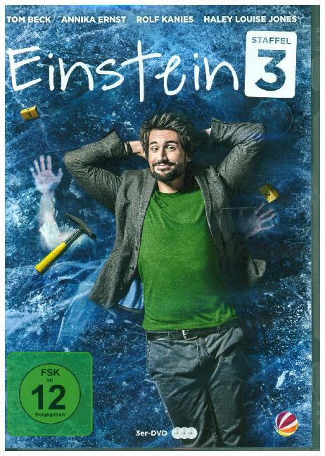 Einstein. Staffel.3, 3 DVDs