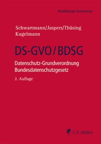 Cover DS-GVO/BDSG