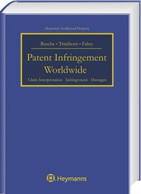 Cover Patent Infringement Worldwide