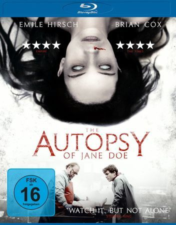 The Autopsy of Jane Doe, 1 Blu-ray