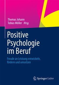 Cover Positive Psychologie im Beruf