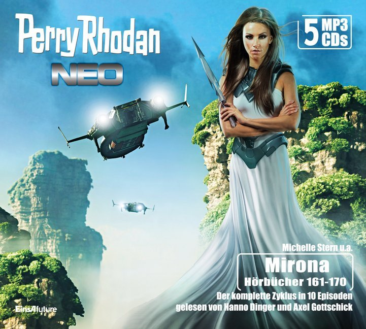 Cover Perry Rhodan Neo Episoden 161-170 (5 MP3-CDs)