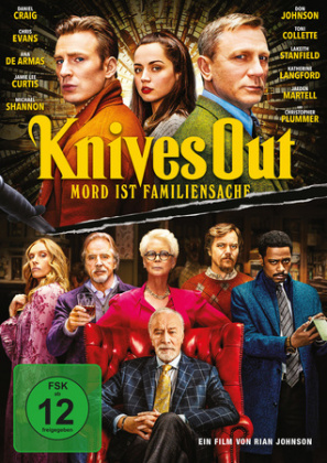 Knives Out - Mord ist Familiensache, 1 DVD