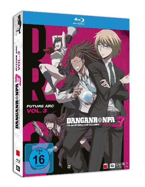 Danganronpa 3: The End of Hope's Peak Academy. Tl.3, 1 Blu-ray