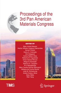 Cover Proceedings of the 3rd Pan American Materials Congress