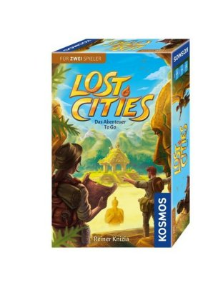 Cover Lost Cities - Abenteuer to go (Spiel)