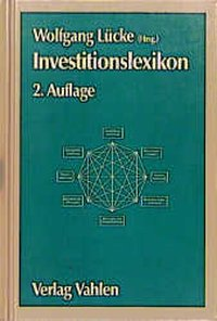 Cover Investitionslexikon