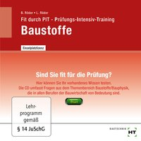 Cover Fit durch PIT - Prüfungs-Intensiv-Training Baustoffe