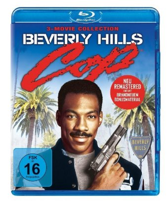 Cover Beverly Hills Cop 1-3, 3 Blu-ray (Remastered)