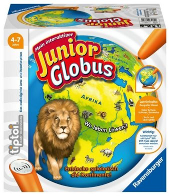 Cover Mein interaktiver Junior Globus