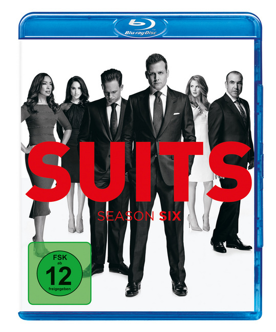 Suits. Season.6, 4 Blu-ray