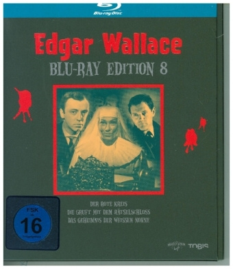 Edgar Wallace Blu-ray Edition. Tl.8, 3 Blu-ray