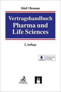 Cover Vertragshandbuch Pharma und Life Sciences