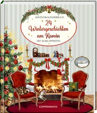Cover 24 Wintergeschichten am Kamin