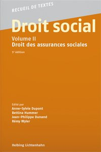 Cover Droit social, Volume II