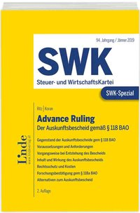 Cover SWK-Spezial Advance Ruling