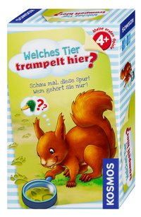 Cover Welches Tier trampelt hier? (Kinderspiel)