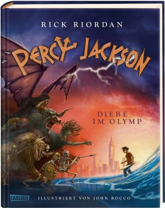 Cover Percy Jackson - Diebe im Olymp
