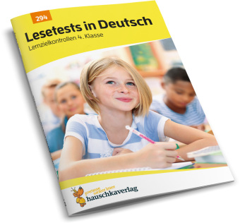 Cover Lesetests in Deutsch - Lernzielkontrollen 4. Klasse